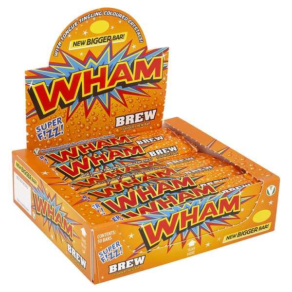 Wham Iron Brew Bars Sweets From The Uks Original